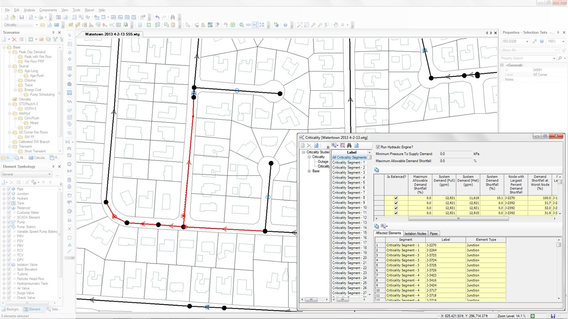 Water Distribution Analysis and Design Software  WaterGEMS