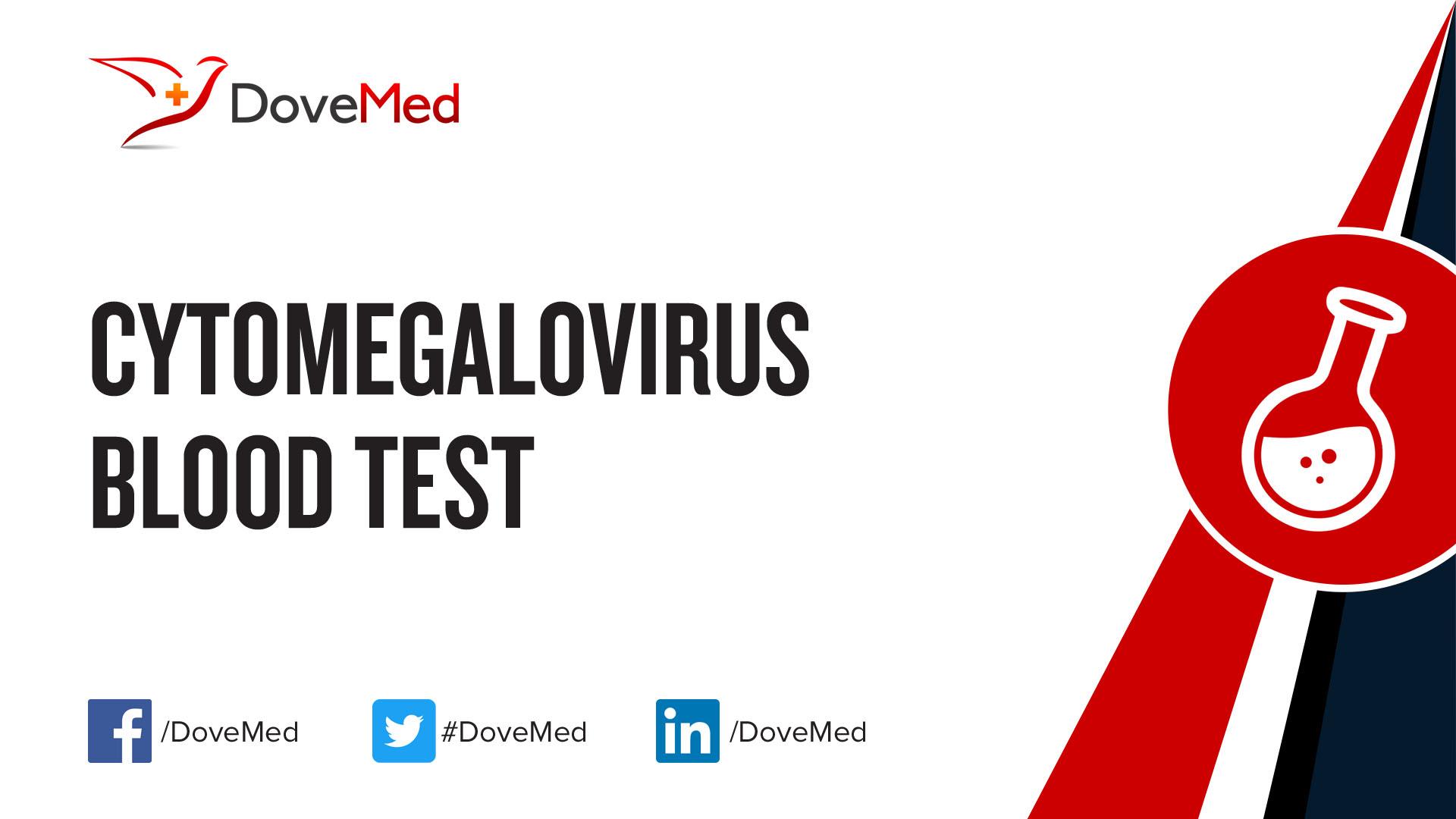 Cytomegalovirus Cmv Blood Test
