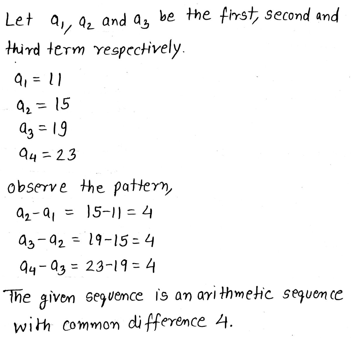 Answered Write A Formula For The Nth Term Of The