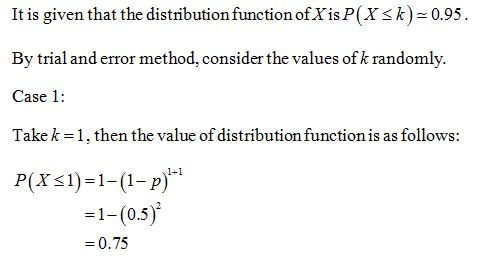 Answered If Is A Geometric Random Variable Bartleby