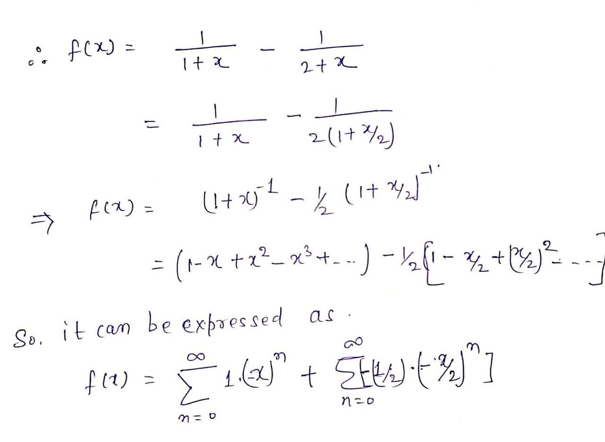 Answered Use Partial Fractions To Find A Power