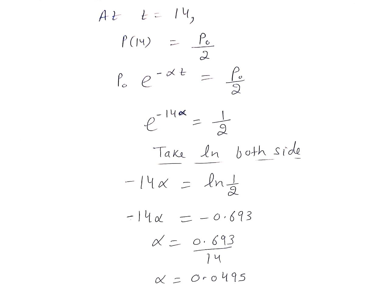 Answered Radioactive Decay The Half Life Of