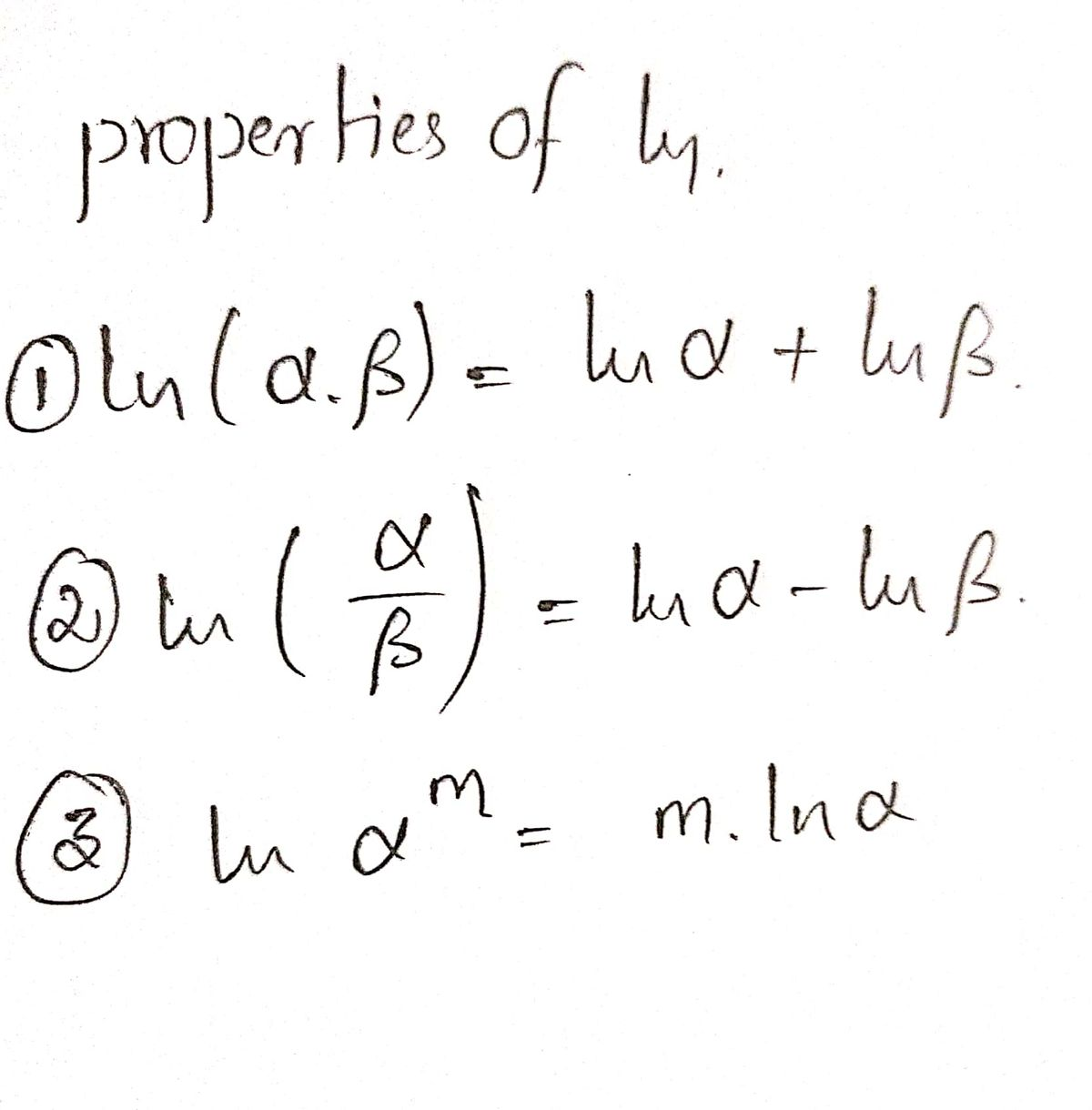 Answered Use The Properties Of Logarithms To