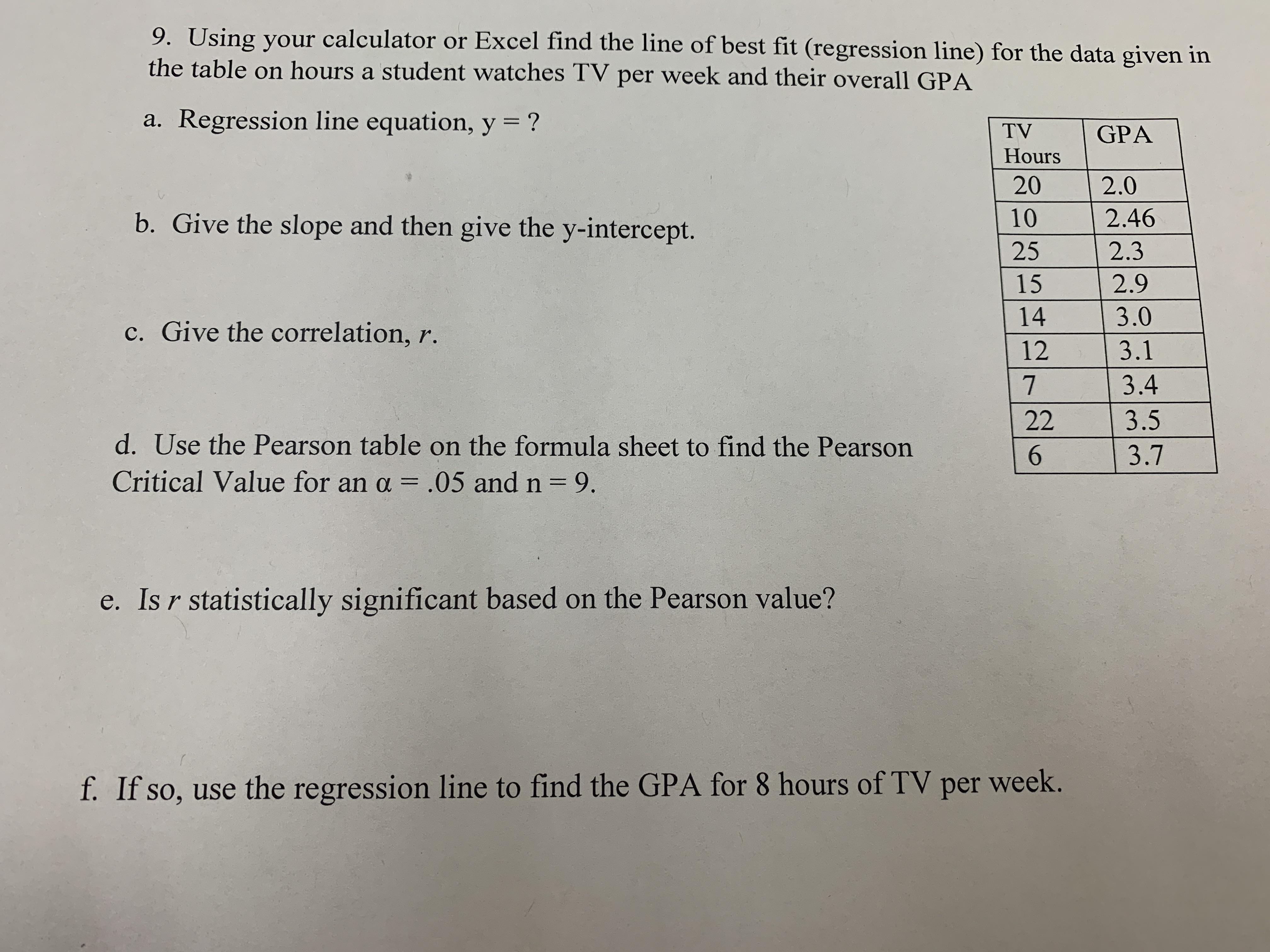 Answered 9 Using Your Calculator Or Excel Find