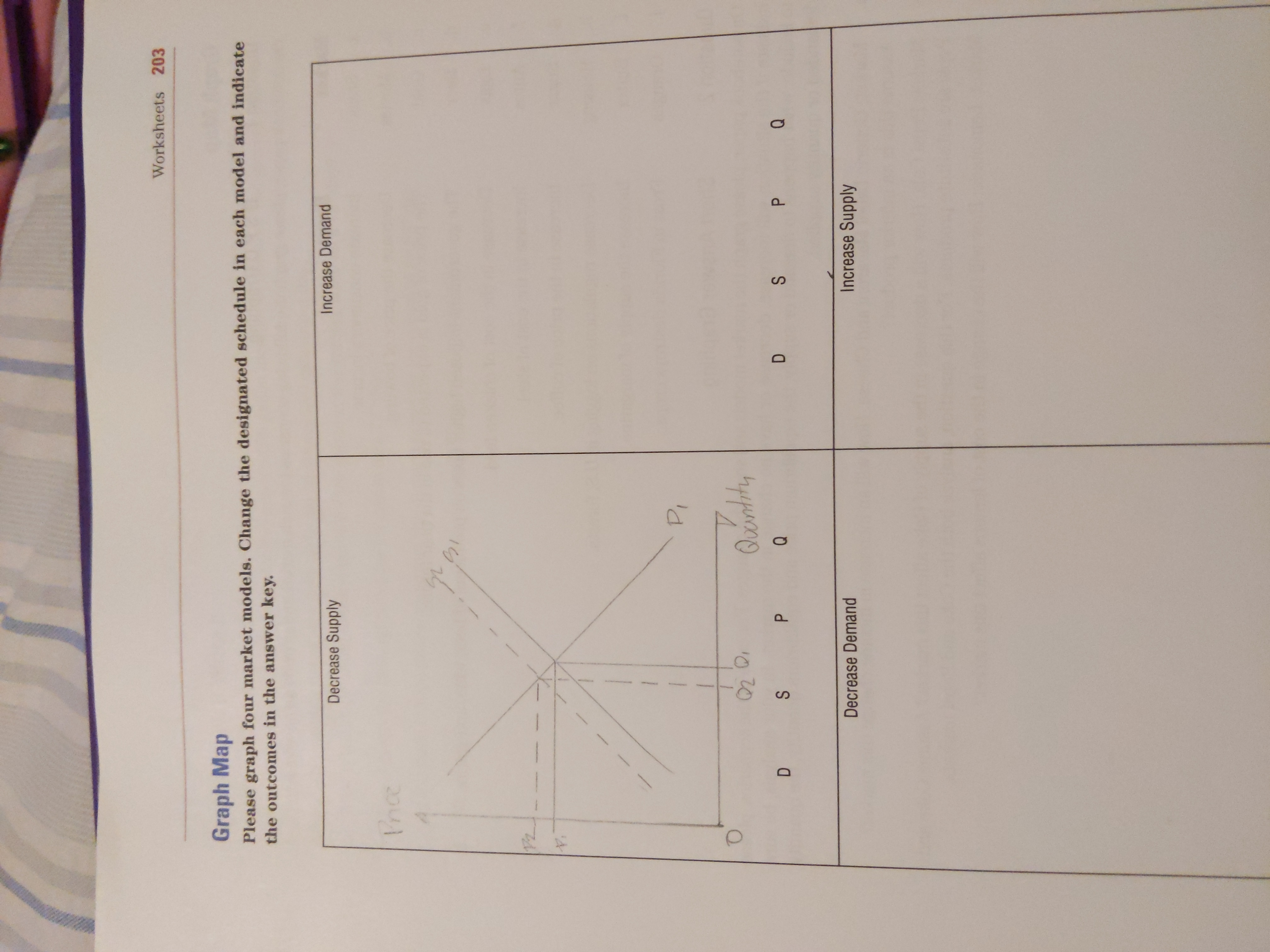 Answered Worksheets 203 Graph Map Please Graph