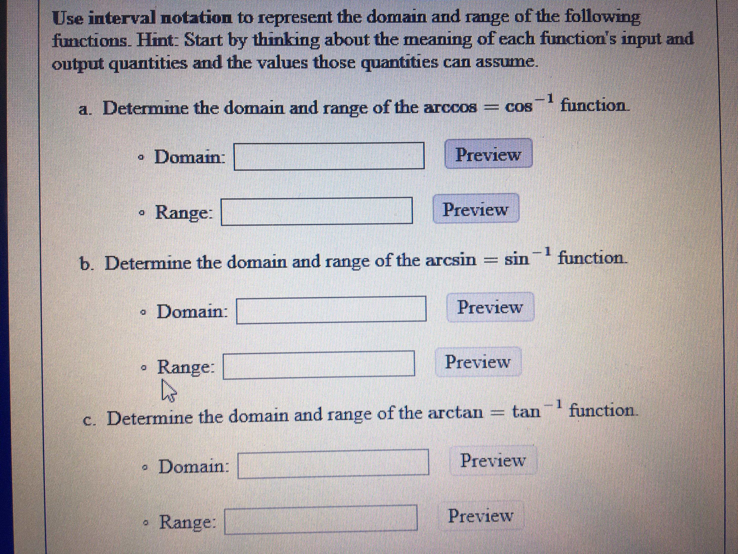Answered Use Interval Notation To Represent The