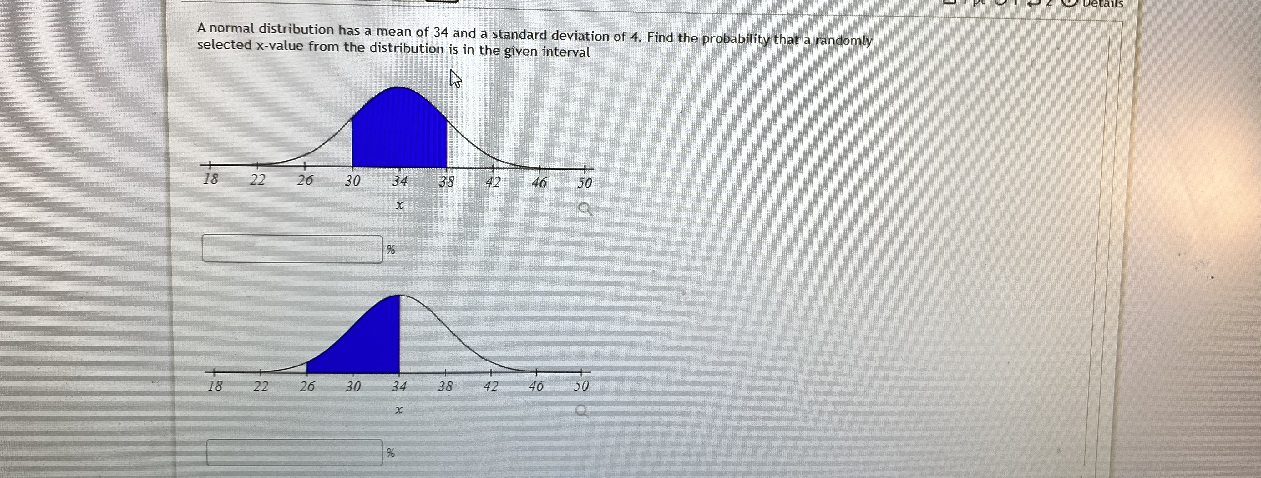 Answered A Normal Distribution Has A Mean Of 34