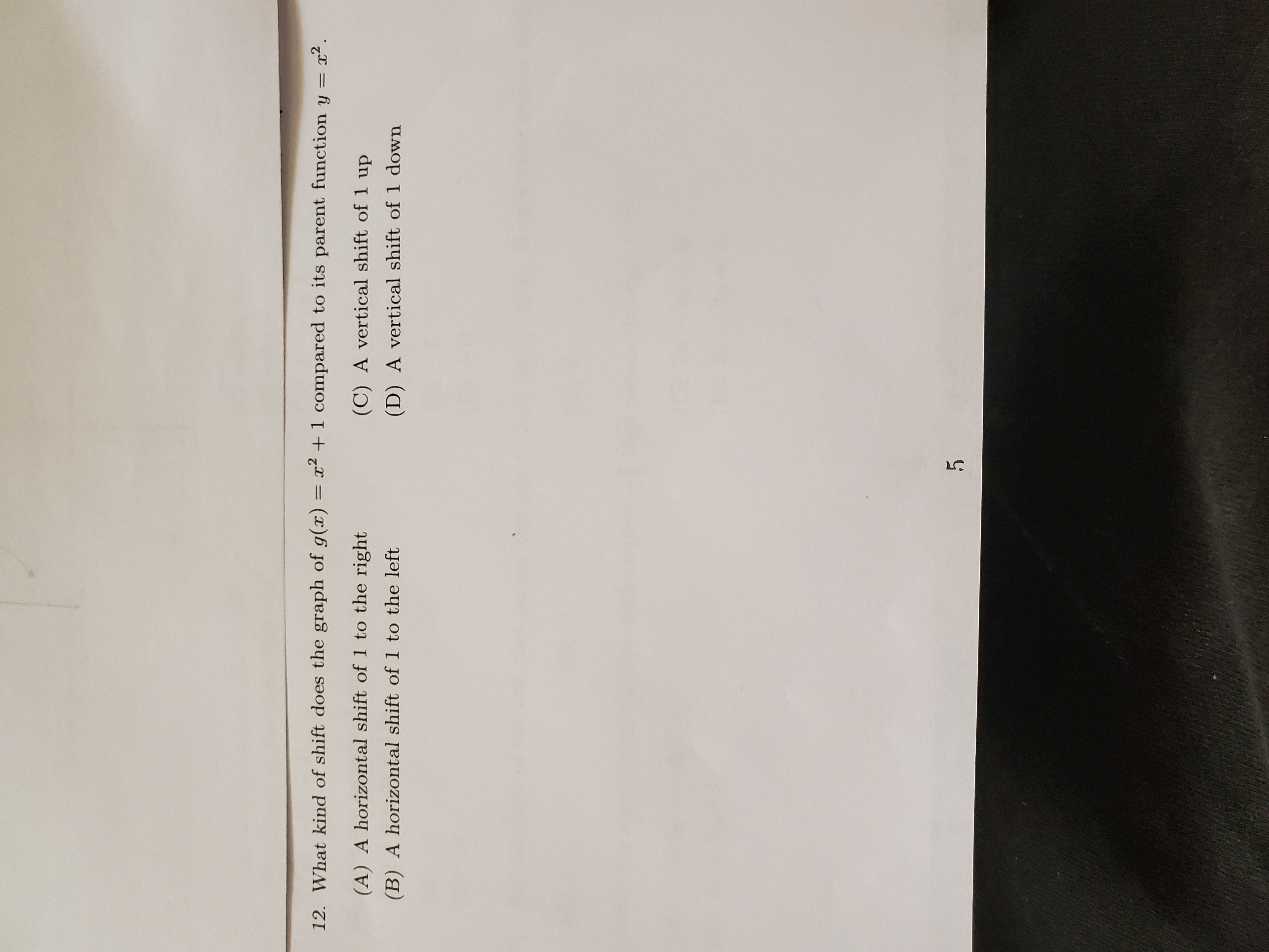 Answered 12 What Kind Of Shift Does The Graph