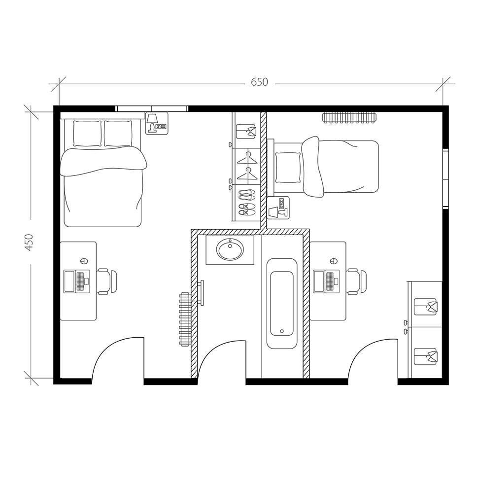 Comment Amenager Une Suite Parentale De Reve En Annexant Une Chambre Une Suite Parentale Moderne La Maison Saint Gobain