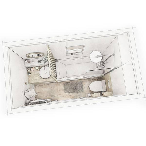 Comment Amenager Une Petite Salle De Bain Toute En Longueur Une Salle De Bain Scandinave La Maison Saint Gobain