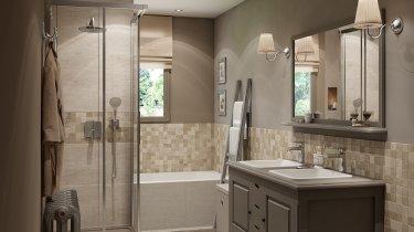 salle de bain de 7 m