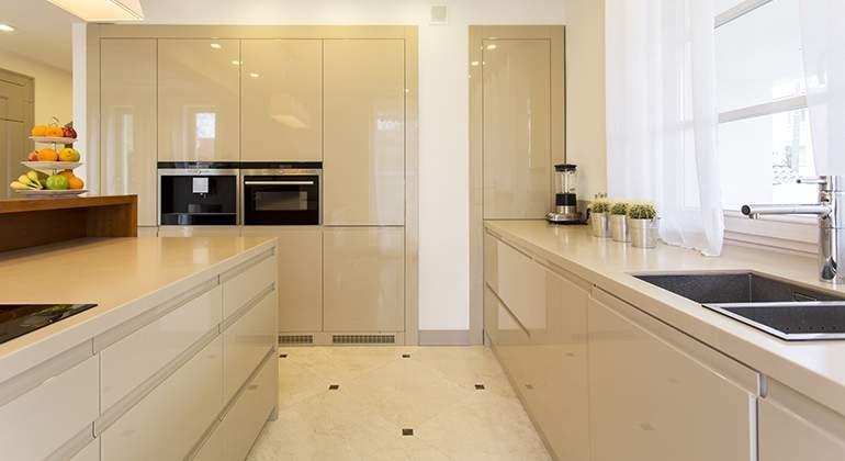 cuisine beige planche de styles