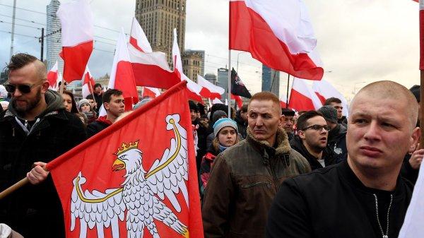 Rise of Polish far-right sparks alarm