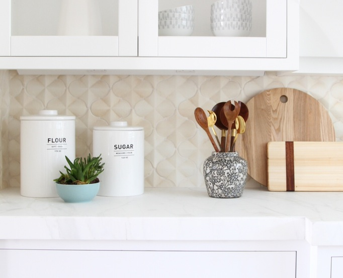 west elm flour canister how to style a kitchen owens and davis