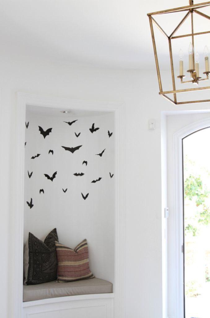 halloween bat stickers becki owens