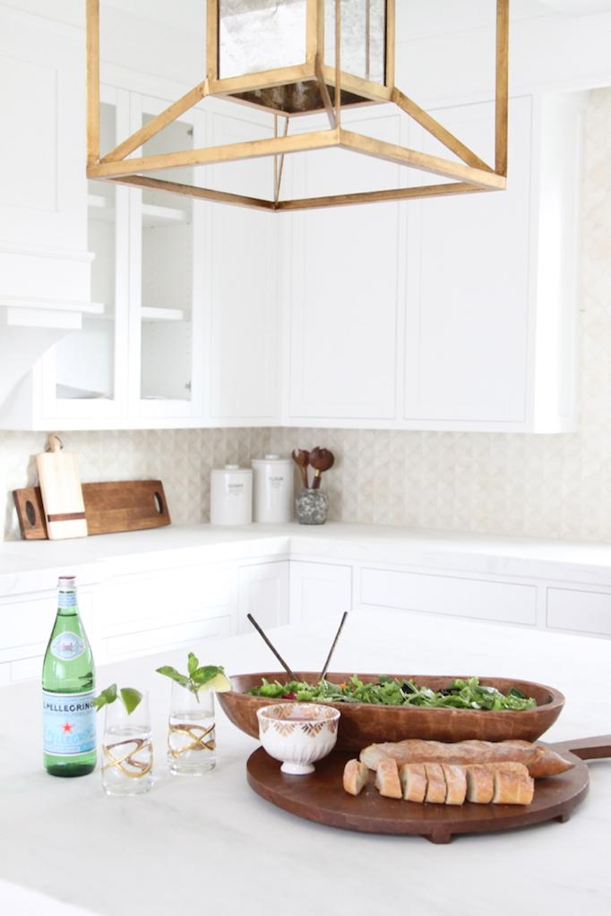 modern mediterranean kitchen becki owens blog