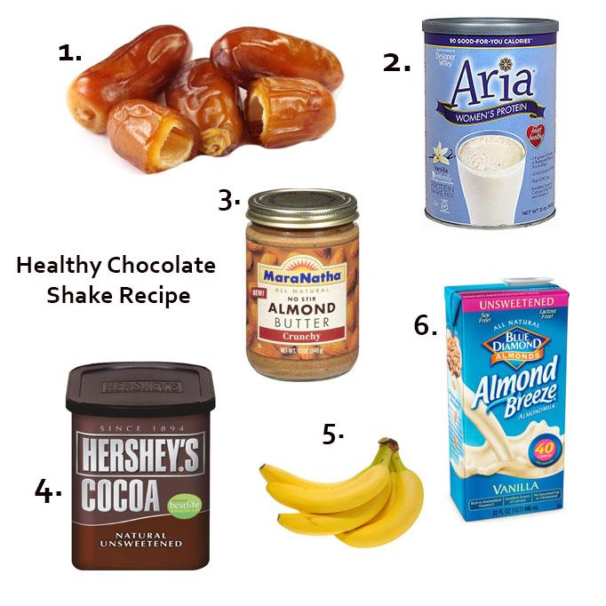 healthy chocolate shake becki owens blog