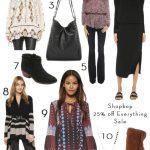 Huge Shopbop Sale: 25% off Everything
