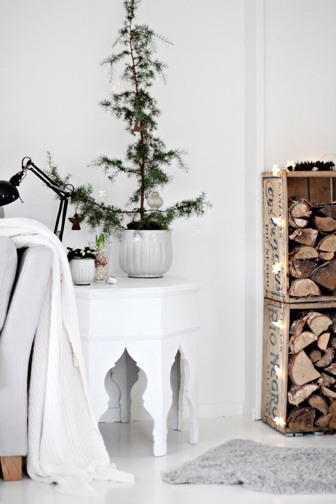 Simple White and Rustic Becki Owens Blog