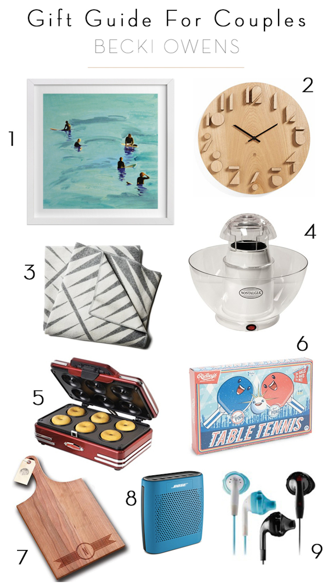 Gift Guide for Couples