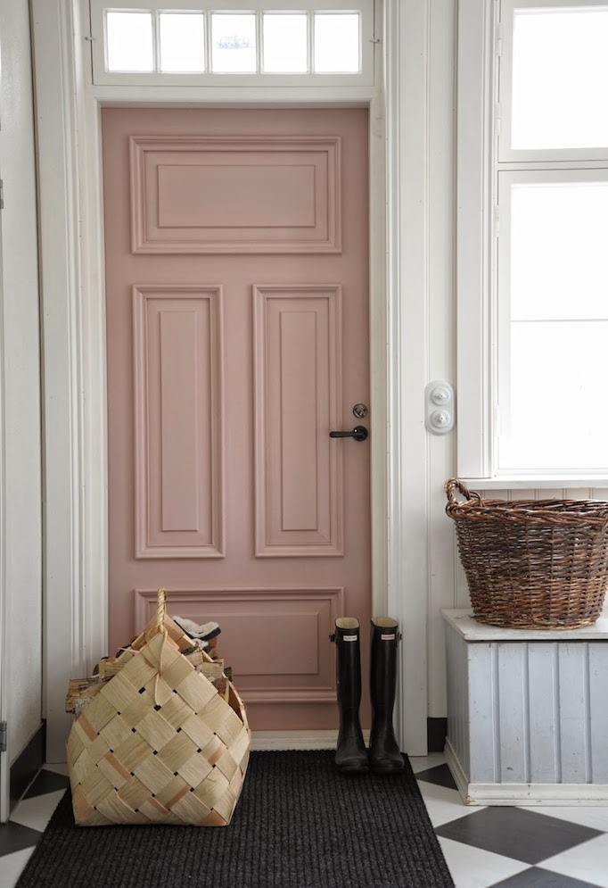 blush pink door blush paint guide