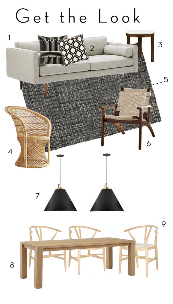 get the look mission mid-century