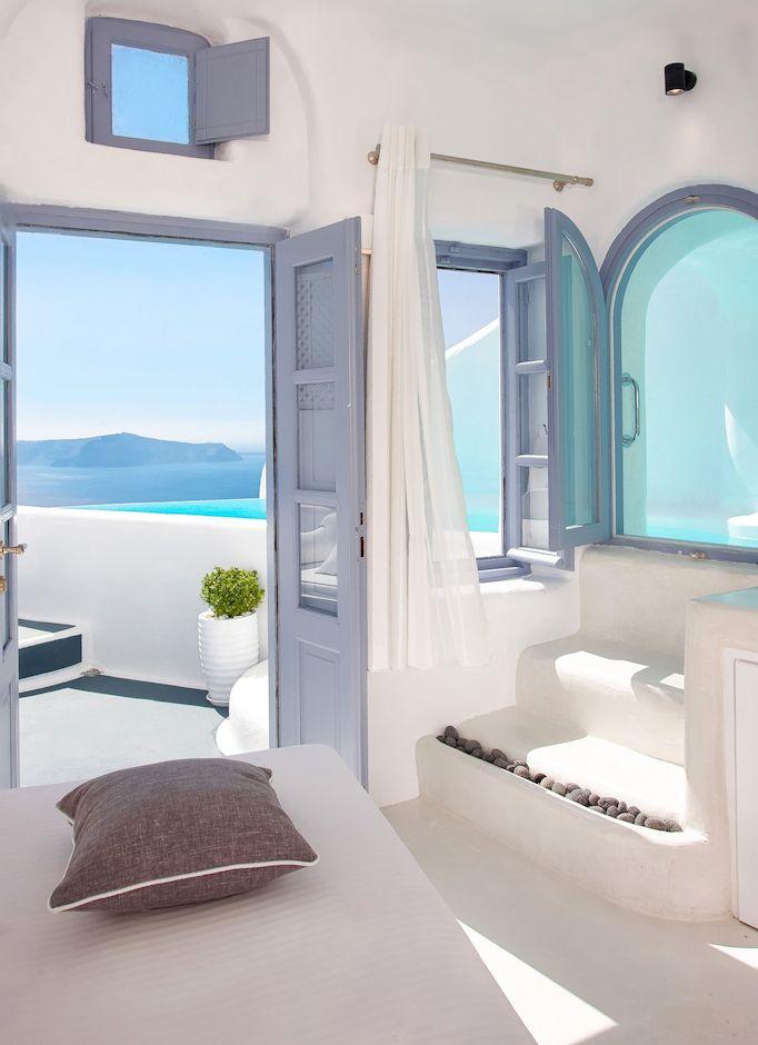 Santorini Greece Style