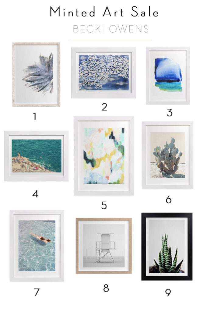 Minted Art Sale