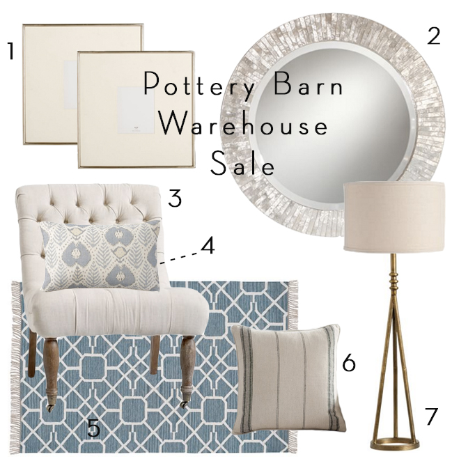 Pottery Barn Warehouse Sale
