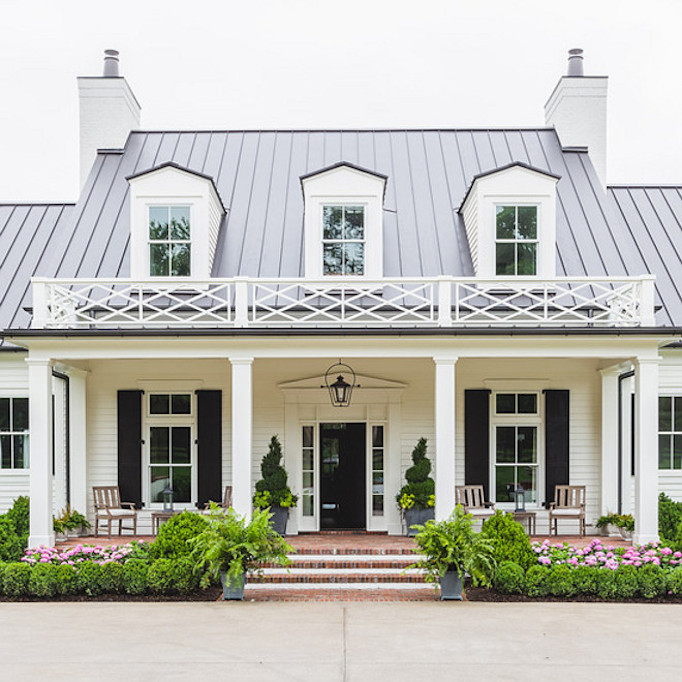 Southern Style Home Exterior