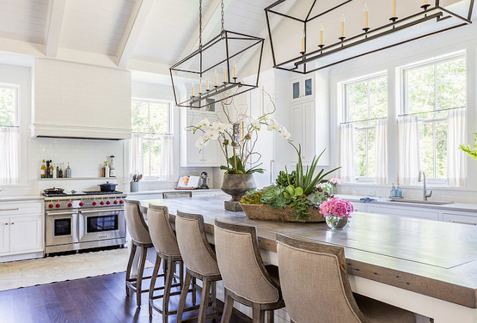 southern white kitchen