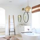 Modern Bohemian Master Bath Retreat