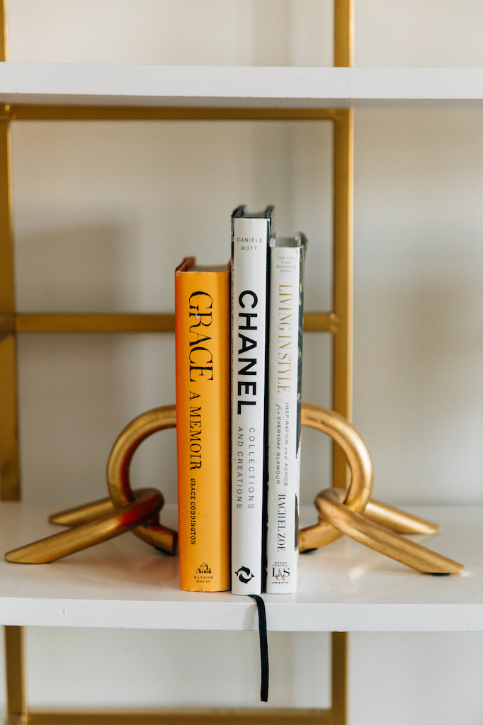 brass-bookends