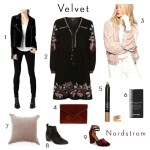 New at Nordstrom – Winter Velvets