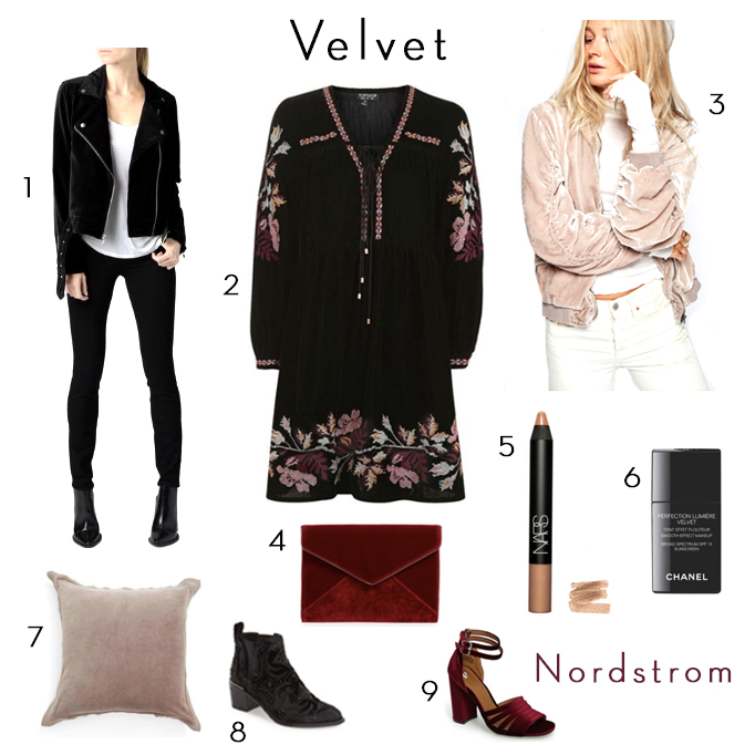 new at nordstrom - velvet