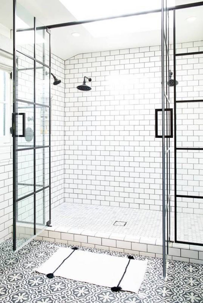 Black And White Showers - Nanatran.com