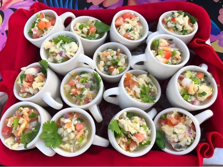 Conch dish at Conch Republic Seafood Company