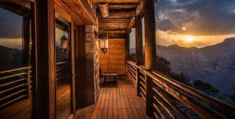 Stargazing hotels: Alila Jabal Akhdar, Oman
