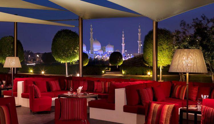 Pan-Asian dining and views at Ritz Carlton Abu Dhabi