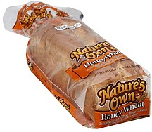 Natures Own Bread Enriched Honey Wheat 200 oz Nutrition
