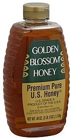 Golden Blossom Honey Premium Pure US 400 oz Nutrition