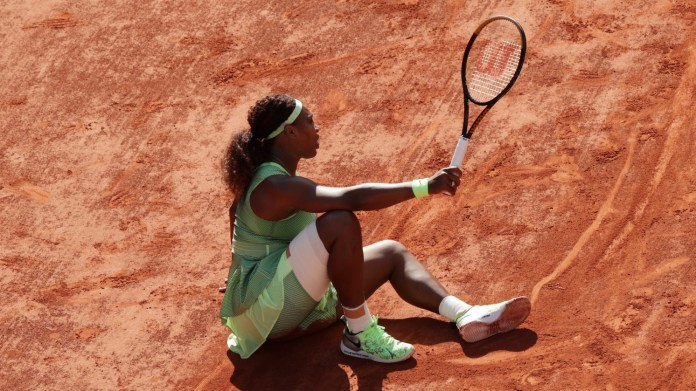 Serena stunned at Roland Garros