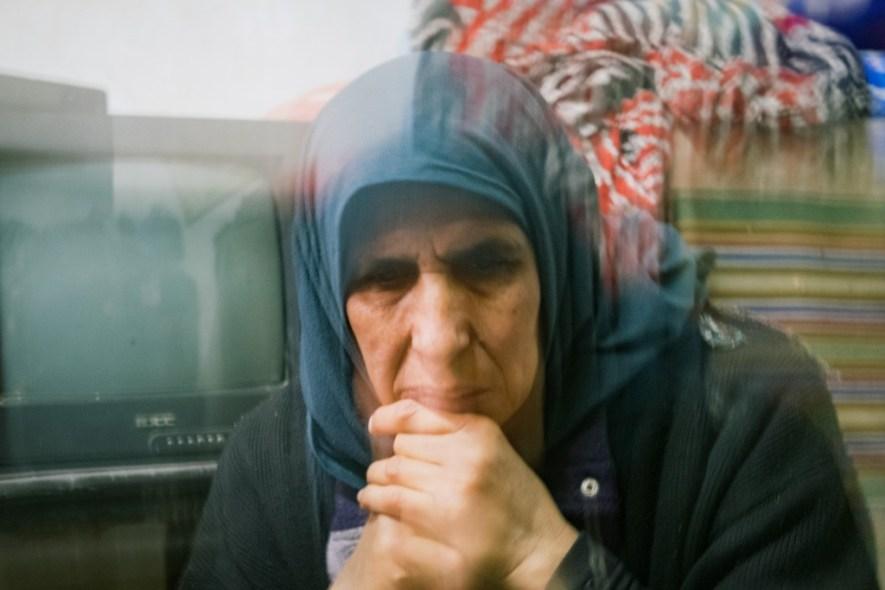 Zahra Billah in her home in the Old City.