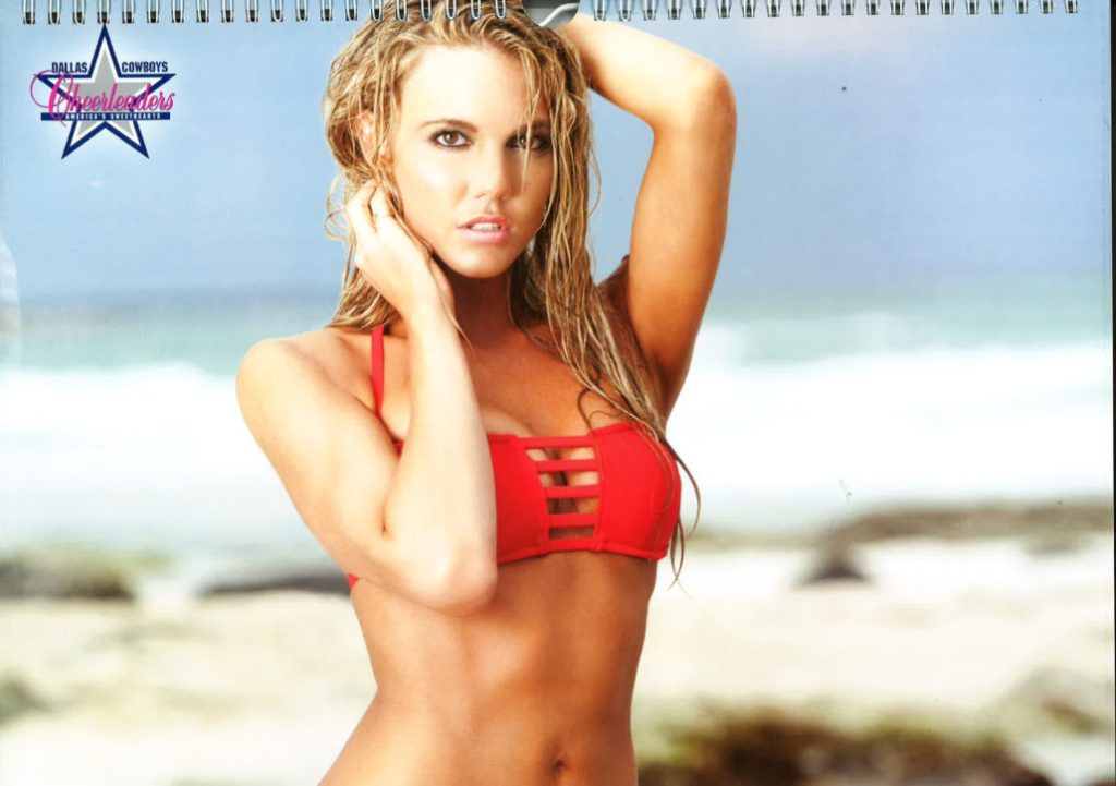 Dallas Cowboys Cheerleaders 2013 Swimsuit Calendar Release