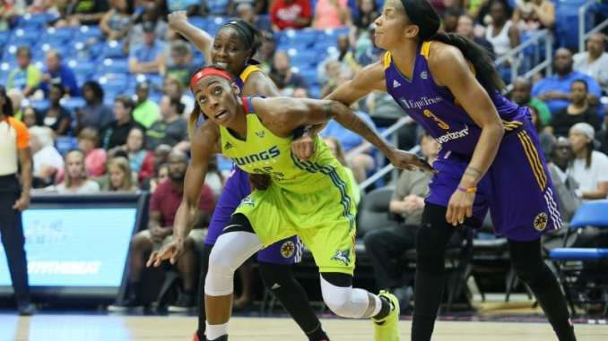 3f93c9d9fe215a PDC Sports - Dallas Wings vs Los Angeles Sparks PHOTO GALLERY - Pro ...