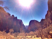 Deep in the heart of ZionNP - Big Bend