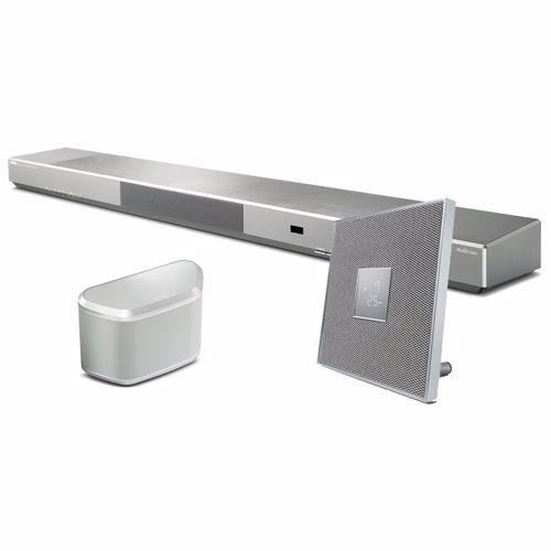 Yamaha netwerk audiosysteem MusiCast Trio (zilver)