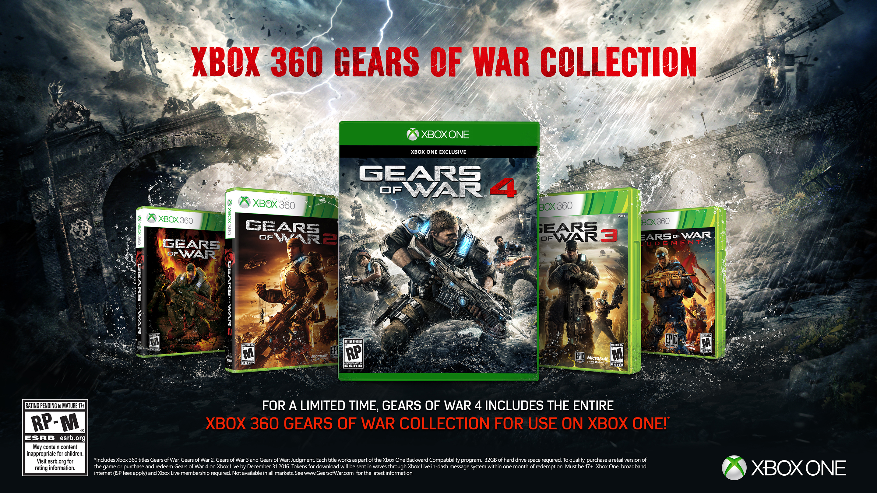Gears Of War 4 Pre Order Now Available Games Gears