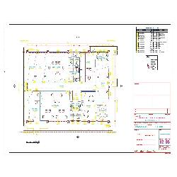 Projeto em DWG em 2D - Galpão Industrial