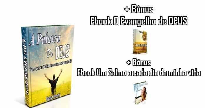 Ebook O Evangelio de Deus + Ebook Um salmo a cada dia da Minha Vida